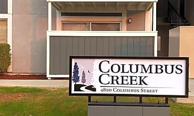 Community Signage, 4820 Columbus St, 1