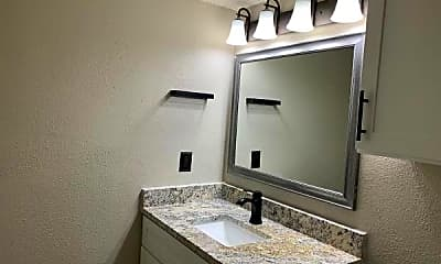 Bathroom, Barton Hills Apartments, 2