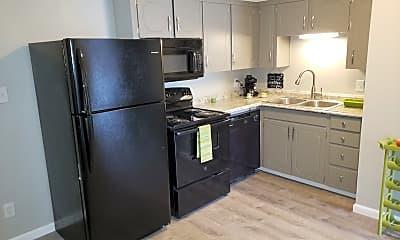 Kitchen, Suncrest Apartments, 1