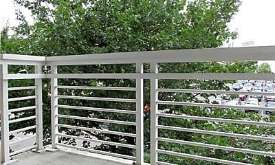 Patio / Deck, 505 E 6th St 302, 2