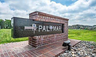 Community Signage, Palomar Apartments, 1