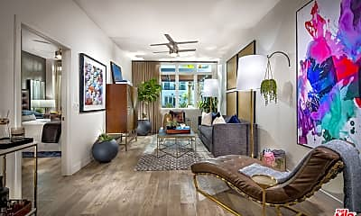 Living Room, 10601 Washington Blvd 409, 1
