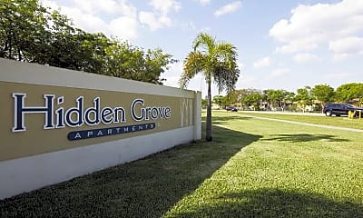 Community Signage, Hidden Grove, 2