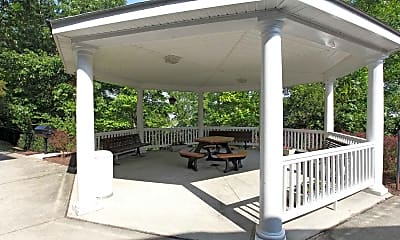 Courtyard, Lakeside Gardens, 1