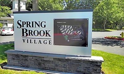 Community Signage, Springbrook Village, 1