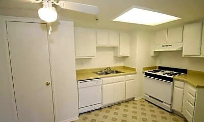 Kitchen, Palm Springs View Apartments, 2