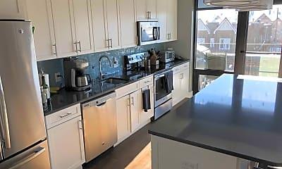 Kitchen, Skye Flats, 1