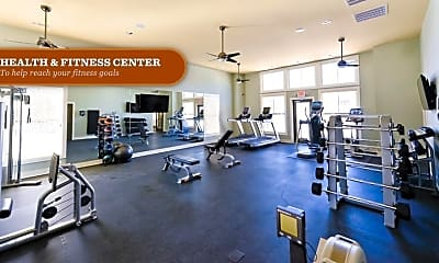 Fitness Weight Room, Enclave 2052, 2