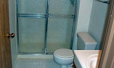 Bathroom, Oak Trails Apartments, 2