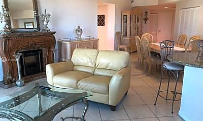 Living Room, 7265 SW 89th St A614, 1