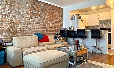Living Room, 61 Lexington Ave 3A, 0
