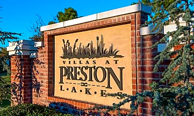 Community Signage, Villas at Preston Lakes, 1
