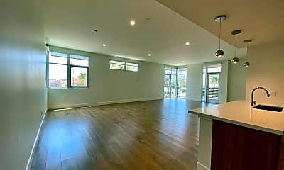 Living Room, 8017 Norton Avenue, 0
