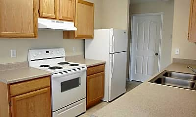 Kitchen, Jefferson School Apartments, 1