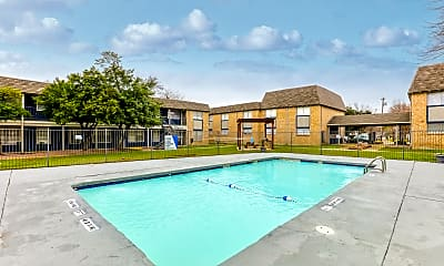 Pool, Parkview Apartments, 0