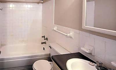 Bathroom, Barron Court Apartments, 2