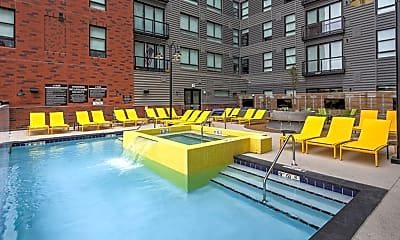 Pool, Campus Edge on Pierce-PER BED LEASE, 1