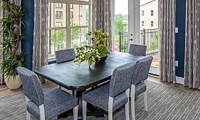 Dining Room, Ardmore & 28th Apartments, 2