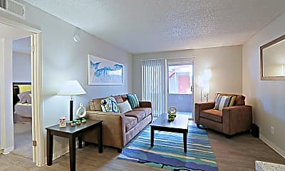 Living Room, Country Gables Apartments, 0