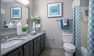 Bathroom, The Reserve At Research Park Apartments, 2