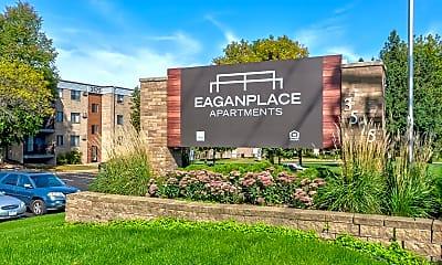 Community Signage, Eagan Place Apartments, 2