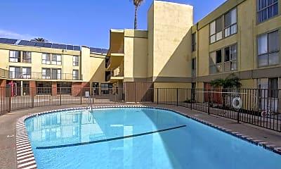Pool, Kingswood Village Apartments, 0