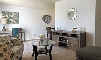Living Room, Knoll Ridge Townhomes and Apartments, 0
