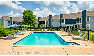 Pool, Sawmill Apartments  12903 E. 35th Place, 2