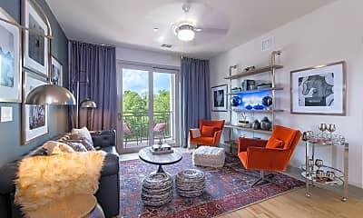 Living Room, Cortland Decatur East, 0