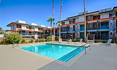 Pool, Townhome Villas, 1