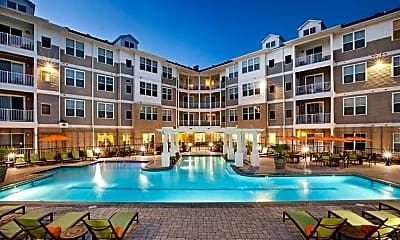 Pool, Solace Apartments, 0