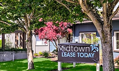 Community Signage, Midtown 15, 2