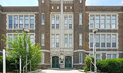 Building, Franklin Manor, 1