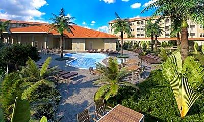 Pool, Diamond Oaks Village, 0