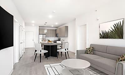 Living Room, Quincy Heights, 1
