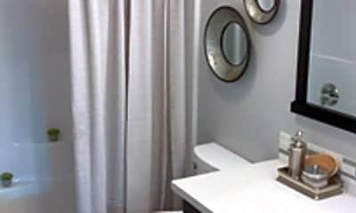 Bathroom, Highridge Apartment Homes, 2