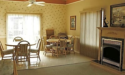 Dining Room, Old Harbor Apartments, 2