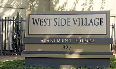 Community Signage, Westside Village, 0