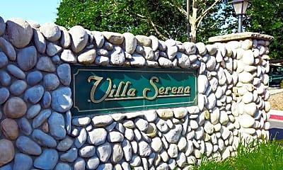 Community Signage, Villa Serena Senior Community, 2