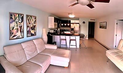Living Room, 2029 N Ocean Blvd 510, 1