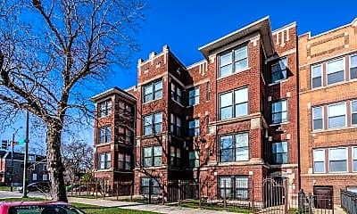 Building, 5854 S Michigan, 2