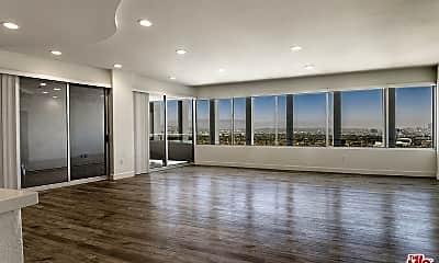 Living Room, 5670 Wilshire Blvd PH4, 1