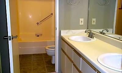 Bathroom, 1380 Bellevue Way NE, 2