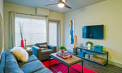 Living Room, Millennium Apartments, 1
