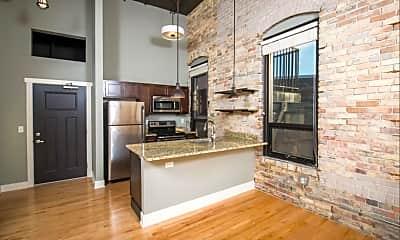 Kitchen, Lofts on Kendall, 1