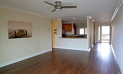 Living Room, 600 E Oceanfront, 1