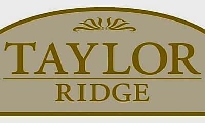 Community Signage, Taylor Ridge Apartments, 2