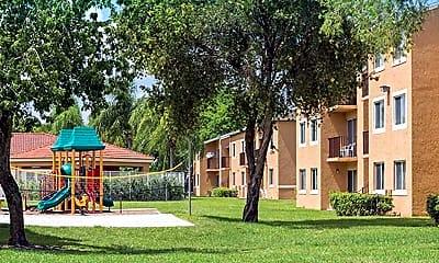 Playground, Hainlin Mills, 2