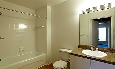 Bathroom, The Brittany Apartments, 2