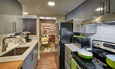 Kitchen, Luxe Towers, 1